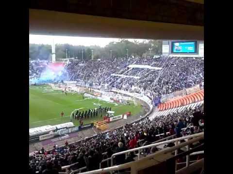 Recibimiento de Godoy Cruz vs Belgrano 2016 - La Banda del Expreso - Godoy Cruz