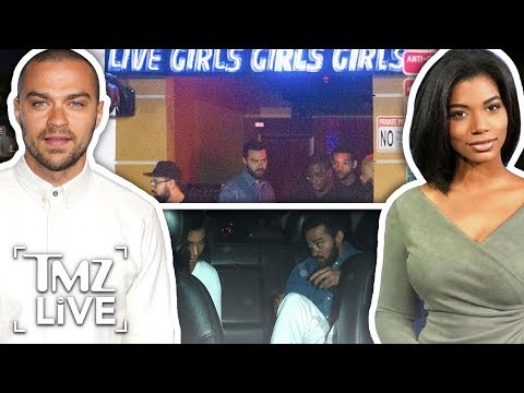 Jesse Williams: Strip Club Date Night! | TMZ Live