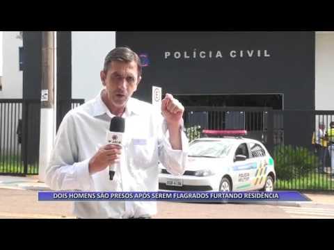 JATAÍ | Dupla é presa após tentativa de furto em residência