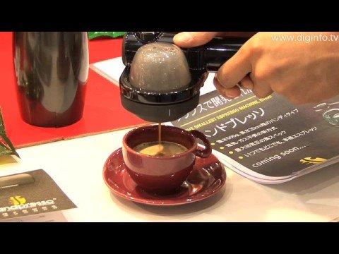 """""""Handpresso"""" Mobile Espresso Machine : DigInfo"""