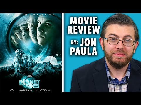 Planet Of The Apes (2001 Remake) -- Movie Review #JPMN