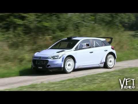Dani Sordo - Test before Barum Rally 2018 - HYUNDAI i20 R5