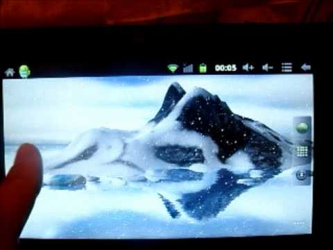 Video of Reflected mountain