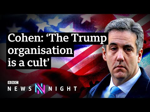 Trump's former attorney Michael Cohen on working for the president - BBC Newsnight