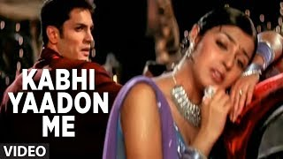 Video Kabhi Yaadon Me Aau Kabhi Khwabon Mein Aau - Full Video Song by Abhijeet (Tere Bina) MP3, 3GP, MP4, WEBM, AVI, FLV Agustus 2018