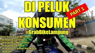 Video Part 1, Di Peluk Konsumen | Grab Bike Lampung MP3, 3GP, MP4, WEBM, AVI, FLV Juni 2018