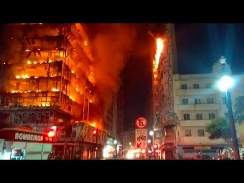 Sao Paulo: Mehrere Verletzte nach Hochhaus-Einsturz