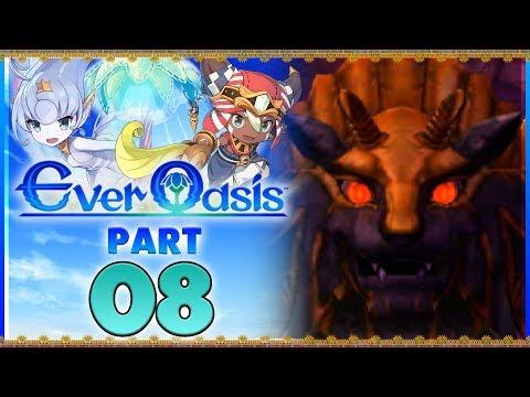 Ever Oasis - Part 8 | Baastu Boss Battle! [New Nintendo 3DS Gameplay]