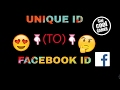 How to find fb id by using unique id