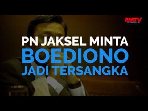 PN Jaksel Minta Boediono Jadi Tersangka