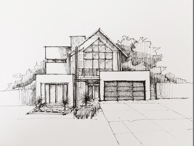 architectural buildings sketches. Architectural Buildings Sketches N