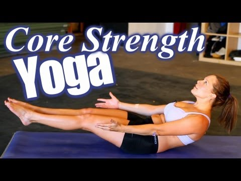 Yoga Workout for Core Strength, Abs & Weight Loss, Home Fitness Training for Beginners, Fit Body!