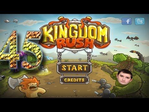 Kindom Rush прохождение самого сложного - последнего уровня на 3 звезды