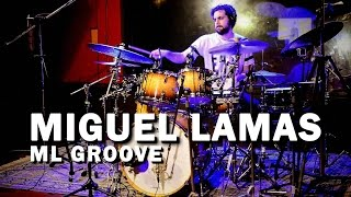 """Meinl cymbals artist Miguel Lamas Drum Video """"ML Groove"""" The cymbals Miguel is using for this song are: 22"""" Byzance Jazz..."""