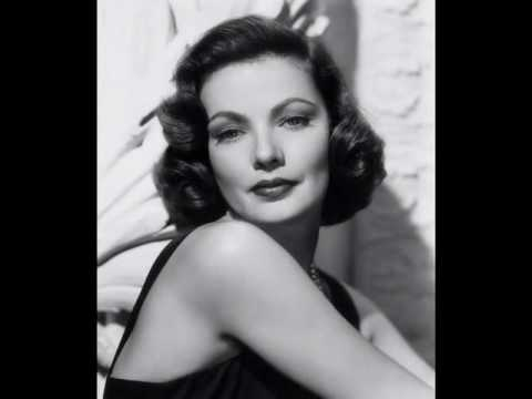 gene tierney height weight