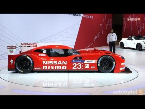 2015 Chicago Auto Show: Nissan GT-R LM and NISMO