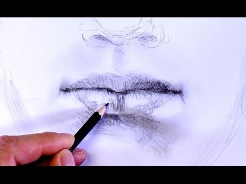 ganz einfach zeichnen lernen 10: Mund