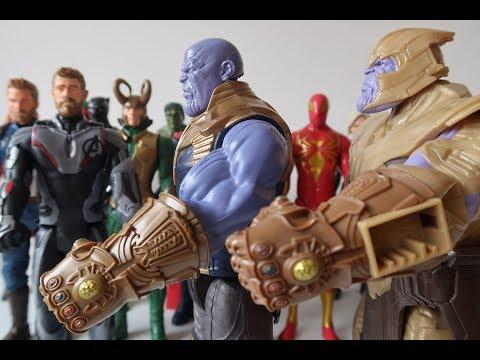 Thanos Avengers Endgame Juguete de Acción #kidsplacetown