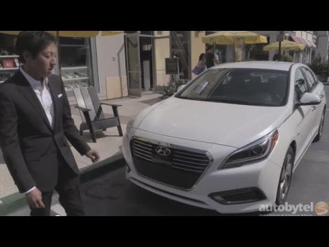 2016 Hyundai Sonata Hybrid First Look