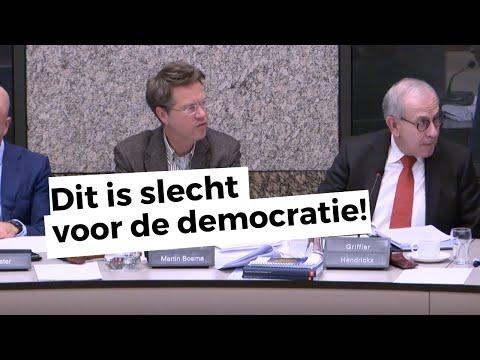 Martin Bosma: 'Nederland Wordt Bestuurd Door Een Regentenklasse'