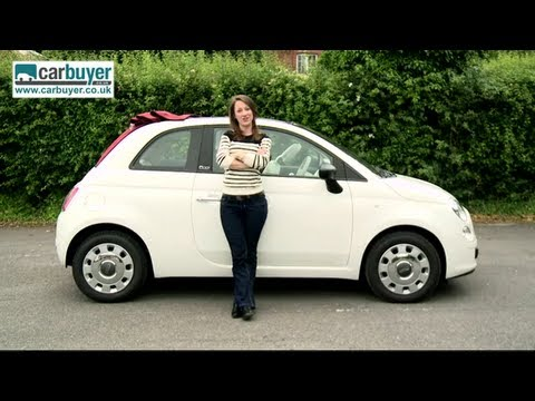 Fiat 500C convertible review – CarBuyer