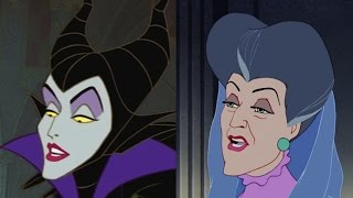 Disney Doppelgangers: Maleficent&Lady Tremaine