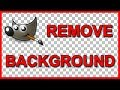 How to Cut out an object in Gimp 210 (2018) - Tutorial