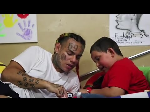 "6ix9ine Does ""Make A Wish"" For A Kid With Brain Cancer 
