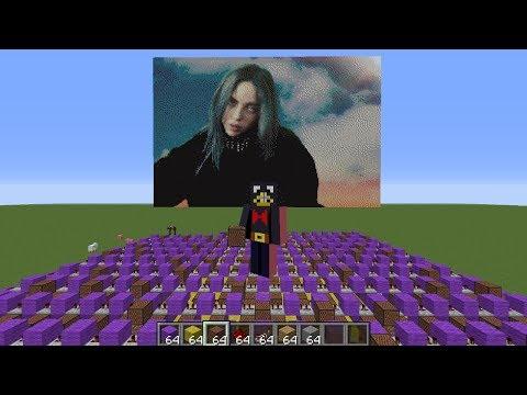 I made BAD GUY using Minecraft Note Blocks