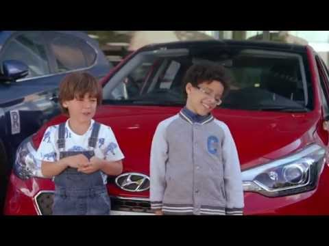 The Hyundai i20 Premium SE - Kids Car Tours