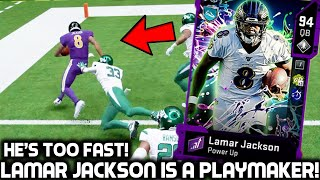 LAMAR JACKSON IS TOO FAST FOR THE DEFENSE! PUTTING ON A SHOW! Madden 20 Ultimate Team