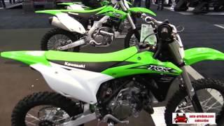 8. Kawasaki KX65   2016, Kawasaki KX85   2016, Kawasaki KX100   2016, Kawasaki KX450F   2016