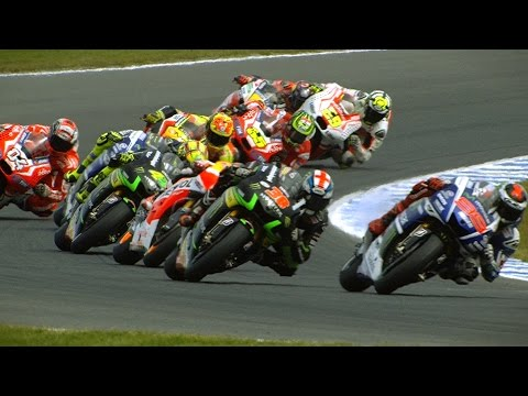 motion - The best super slow motion footage from the 2014 Tissot Australian Grand Prix, round 16 of the season at the Phillip Island circuit. See more: http://bit.ly/MotoGPVideoPass.