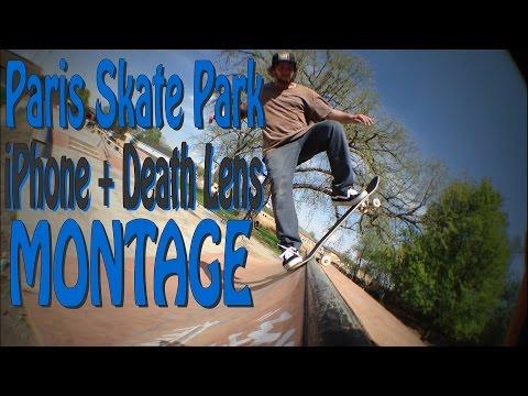 (HD) Paris Park Montage   iPhone + Death Lens 2015 +   SKATEBOARDING