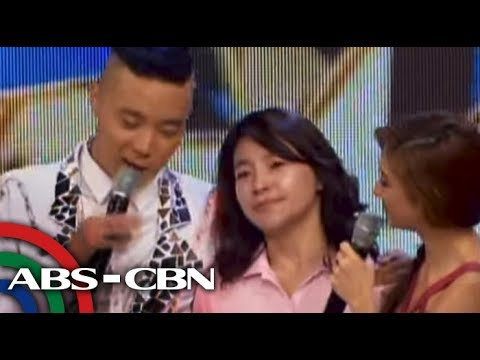 Grateful Ryan Bang, mom in tears on 'Showtime'