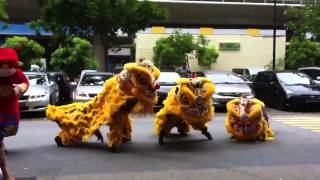 Chết cười với Gangnam Style phiên bản múa lân =))