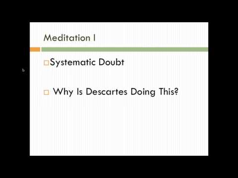 descartes meditation vi essay Free essay: in his sixth meditation must return to the doubts he raised in his first meditation in this last section of his sixth meditation he deals mainly.