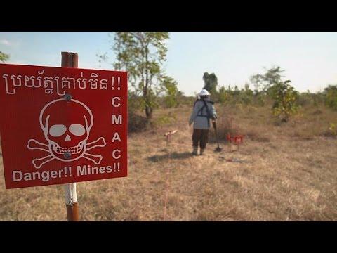 Ιαπωνία: Βοηθώντας την Καμπότζη να καθαρίσει τις νάρκες – focus