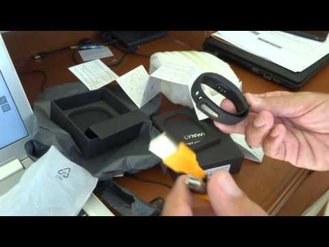 Un-boxing The LYNWO M4 Wristband Bracelet
