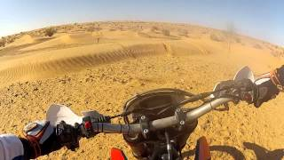 9. Aprilia RXV 450 in the Desert