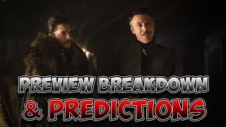 Hey Guys! My name is Ray and today's the day that we go over and preview Game Of Thrones Season 7 Episode 2 titled...