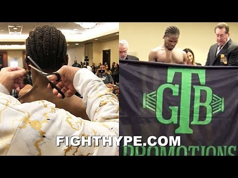 SHAWN PORTER FINALLY MAKES WEIGHT AFTER HAIRCUT & STRIPPING NAKED; COMES IN AT 146.8 FOR UGAS CLASH