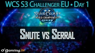Snute vs Serral - WCS 2015 Season 3 - EU Challenger - Day 1