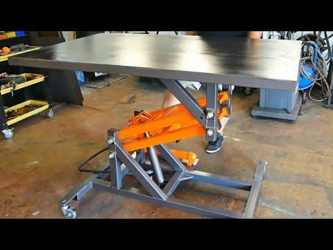 Making Hydraulic Lift Table