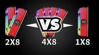 Chipart - Qual Quantidade de Memoria Usar no PC? 8GB vs 16GB vs 32GB - Teste em jogos!