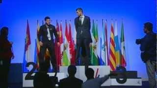 Entrega de premios perfiles Automoción Olimpiadas FP 2013