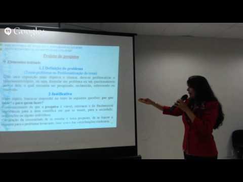 Oficina de Elaboração de Projetos para seletivo do Minter em Educação UFG/IFMT [PARTE 1/2]