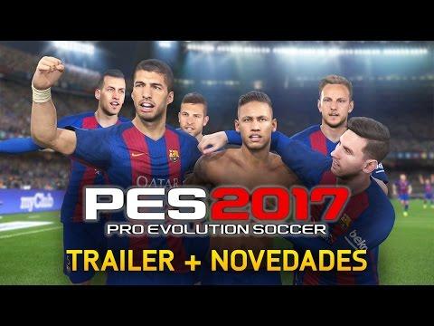 PES 2017 TRÁILER GAMEPLAY | NOVEDADES DE PES 2017 & FIFA 17 (LICENCIAS, LEYENDAS, PORTADA…)