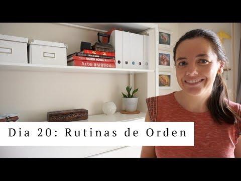 Dia 20: Rutina de Orden