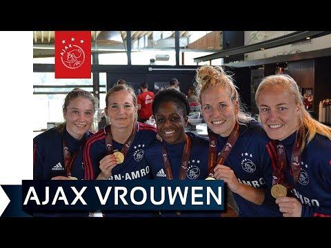 Groots onthaal voor Europees kampioenen